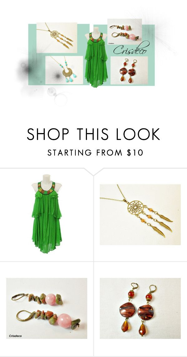 """Dreamcatcher parade"" by cristina-birau on Polyvore featuring Ali Ro, modern, dreamcatcher, fashionset and 2016"
