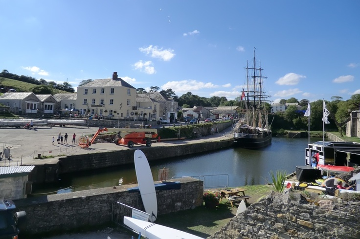 Charlestown, near St Austell in Cornwall
