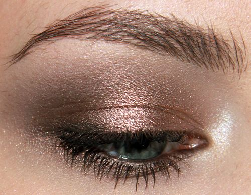 BareMinerals High Shine Eyecolor in  Meteorite.