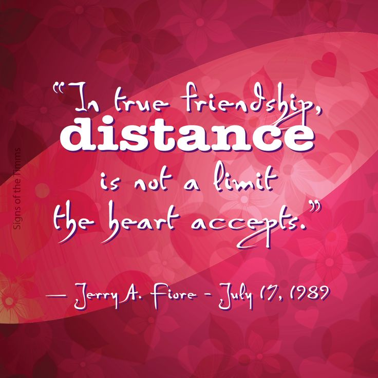 Excellent Friendship Quotes And Sayings Long Distance Images ...