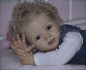 Фридолин. Фото представлено для примера. Куколка сделана из винила. Срок изготовления 2-3 недели