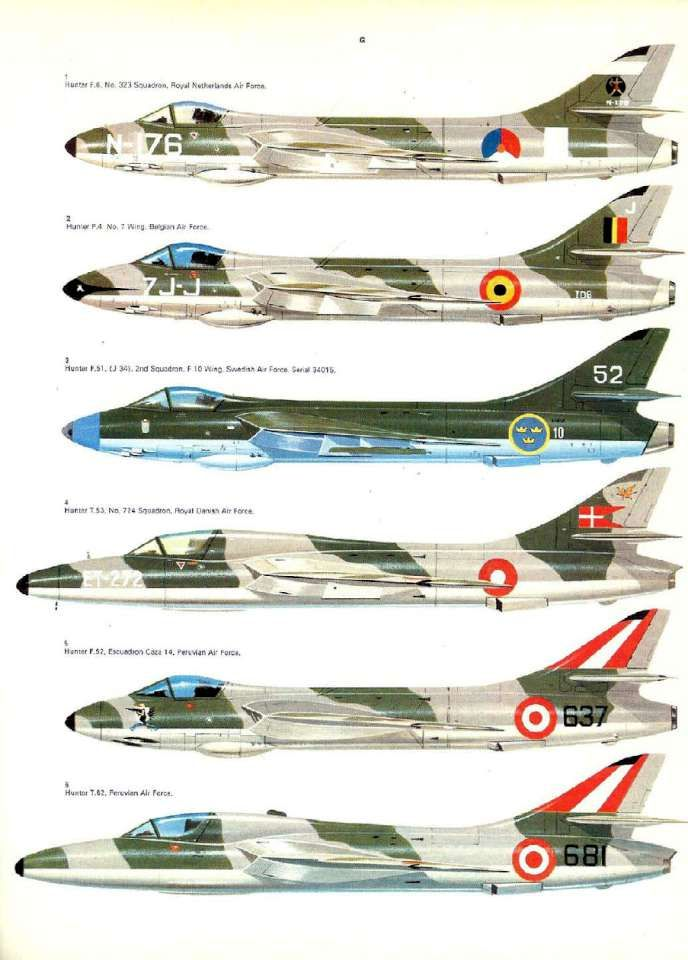26 Hawker Hunter Page 33-960