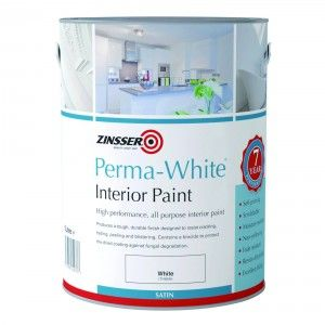 Perma-White® mould resistant interior paint has a unique formulation that protects the dried coating against fungal degradation. Perfect for the decoration of high humidity areas.