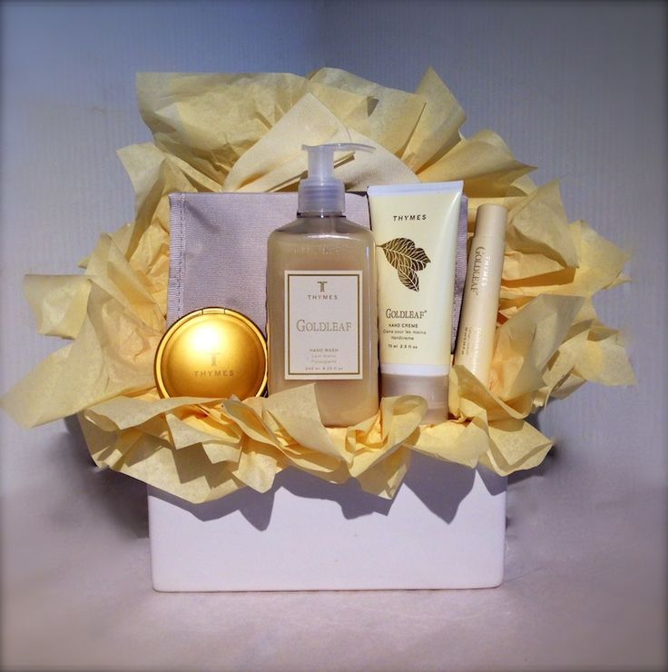 Thymes GoldLeaf Gift Basket | Dream Weaver