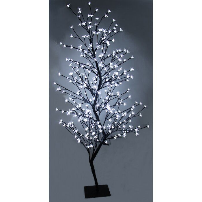 Outdoor Dual Color 336 Tree Net Lights Cherry Blossom Tree Blossom Trees Outdoor Christmas Lights