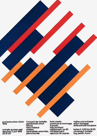 Designed by Josef Müller-Brockmann