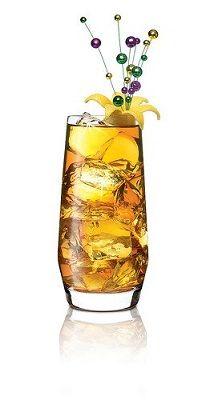 Fat Tuesday Iced Tea 2 oz. SKYY Infusions Citrus Vodka 1 oz.