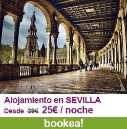 Encuentra el hotel a mejor precio en Sevilla para esta Semana Santa con las #ofertas de bookea.com