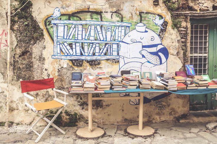 Anafiotika Athens Greece travel books