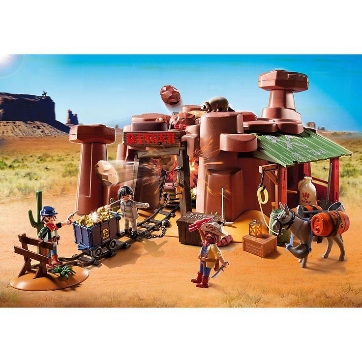Playmobil Western Kopalnia złota z ładunkiem wybuchowym, 5246, klocki