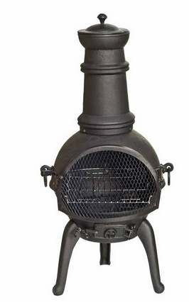 This chimera would really add some ambience to the garden this summer.  Great for sitting round to keep warm at a bar-b-q