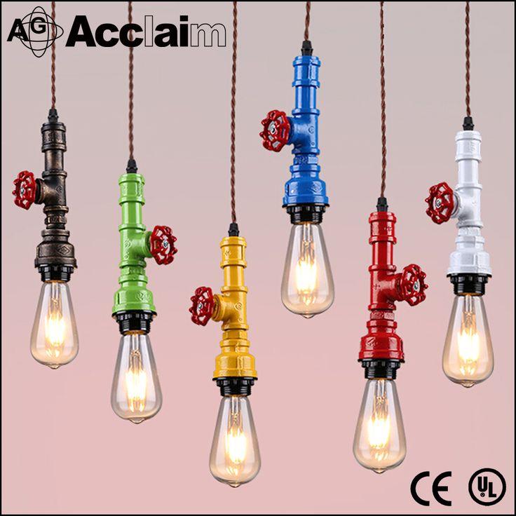 Nieuwe Industriële Verlichting Edison Lampen Hanglamp 110 V 220 V Waterleiding Opknoping Lamp Voor Bar en Restaurant-kroonluchters en hanglampen-product-ID:60592859695-dutch.alibaba.com
