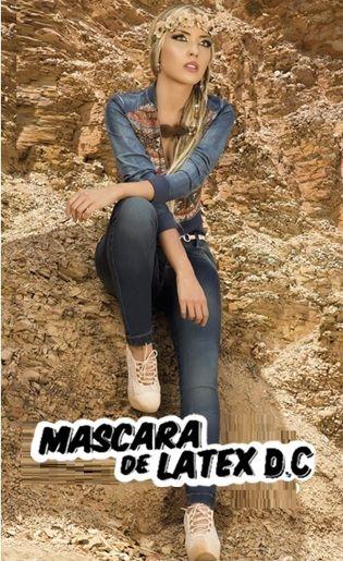 Mascara de látex D.C  #mascaradelatexdc   (Y)