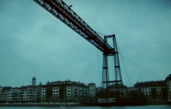 Puente colgante, Bilbao