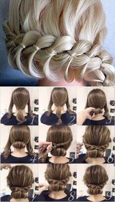 Поиск на Постиле: прически для средних волос