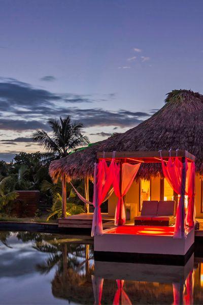 El Secreto in Belize has a quiet beach and luxe villas. It's a #Fodors100 winner in the Blissful Beach Retreats category.