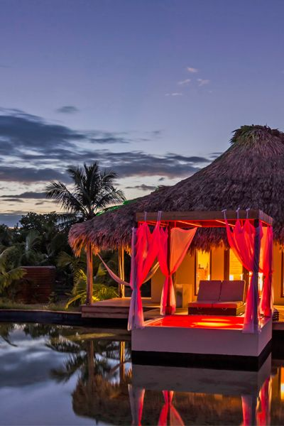 El Secreto in Belize has a quiet beach and luxe villas. It's a #Fodors100 winner in the Blissful Beach Retreats category.