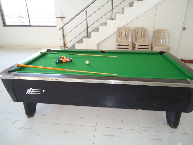 Pool Game At Villa