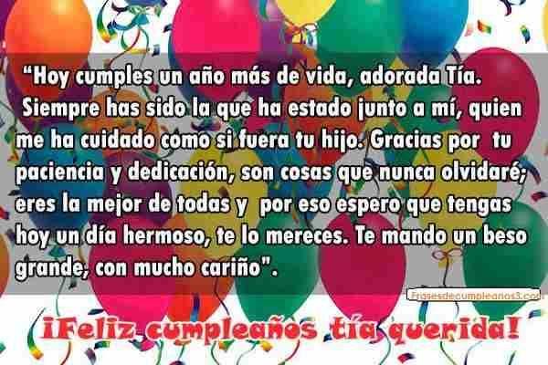 Un Gran Cumpleaños Para La Tía Más Adorable Del Mundo Feliz Cumpleaños Tia Cumpleaños Tía Feliz Cumpleaños