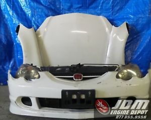 a 02 06 honda integra acura rsx type r white oem front end nose cut jdm dc5 4