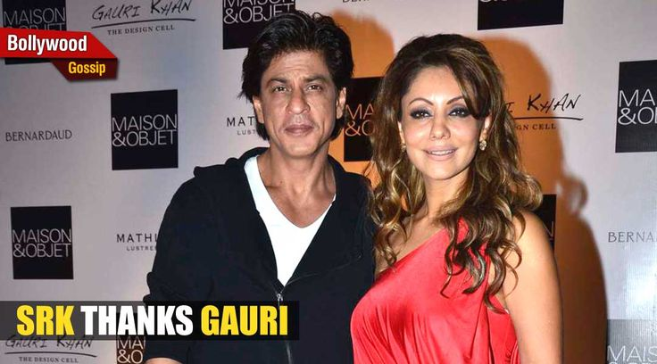 Check out #ShahRukhKhan's adorable anniversary message to wife Gauri!