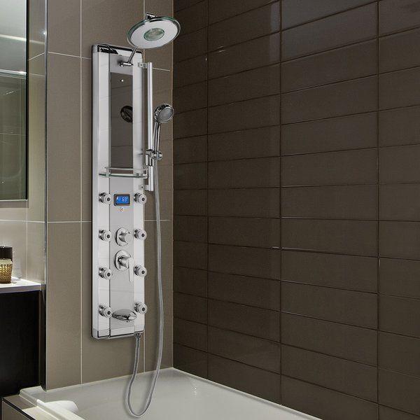 Function 50 5 Shower Panel Shower Panels Adjustable Shower
