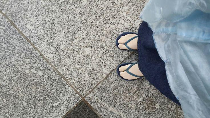 My footsteps at Masjid Nabawi, Madinah