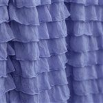 Custom Ruffled Curtain Valance Periwinkle by avisiontoremember, $25.00