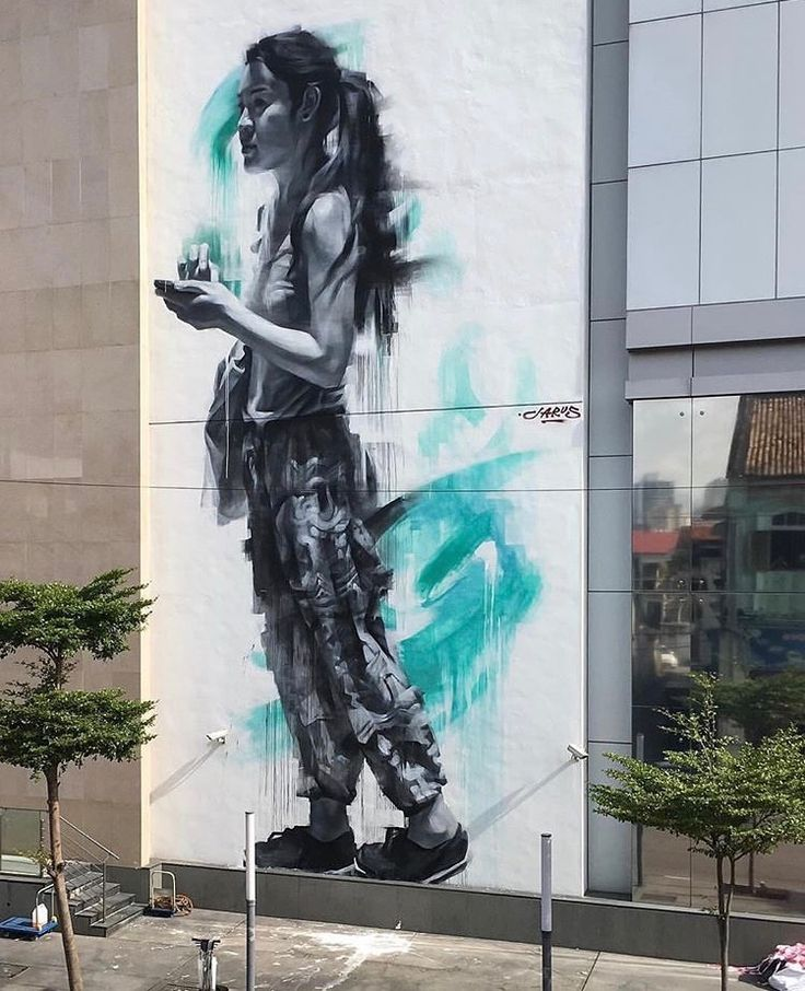 Best Street Art Images On Pinterest Street Art Search And - Beautiful giant murals greek gods pichi avo