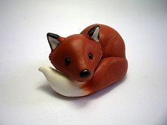 Link to the gallery of Quernus Crafts. Cute sculpey clay animals