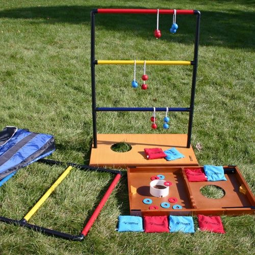 Yard/Tailgate Games: buy something of nice quality (Corn Hole, Ladder Ball, Washers, Croquet, Bocce Ball, Fricket, Bottle Drop)