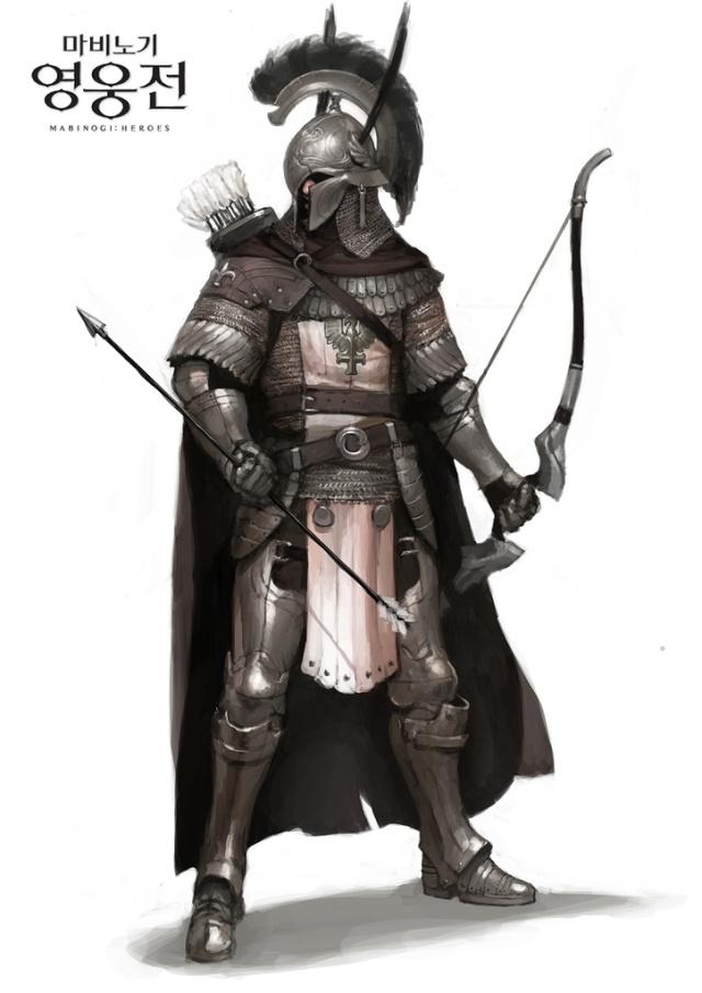 Mabinogi Heroes Hoplite archer noble