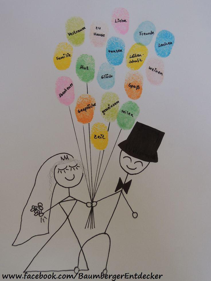 Ein Geschenk zur Hochzeit, mit vielen guten Wünschen :) www.facebook.com/BaumbergerEntdecker