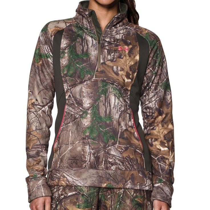 Under Armour Women's Camo Armour Fleece Quarter Zip Jacket | DICK'S Sporting Goods