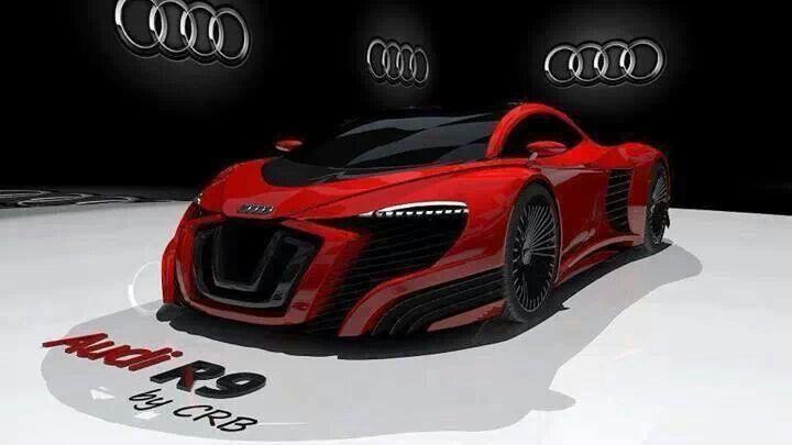 Audi R9 Concept Cars Pinterest