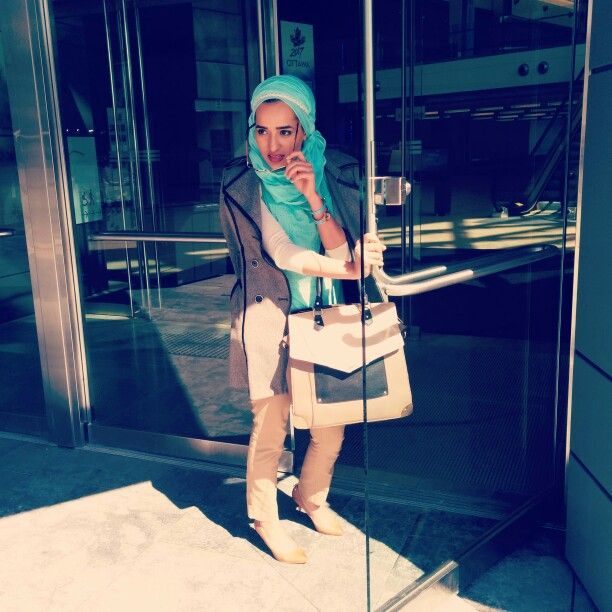 #businesswear #turquoise #casual #hijabi #hijab #fashion #style