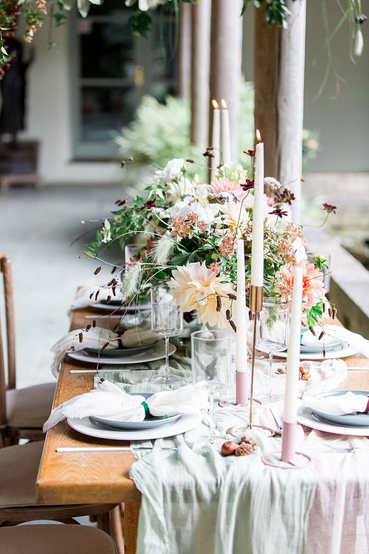 Flower Installation & Tablescape | Botanical Boho Luxe Inspiration | Philippa Sian Photography