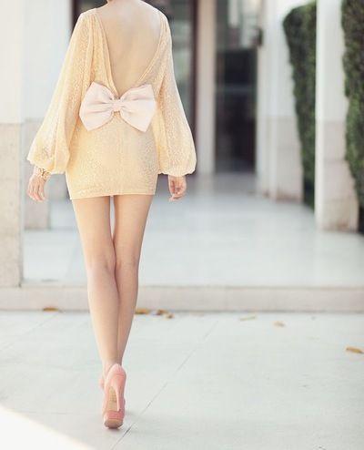 #bow dress