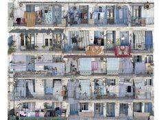 Le photographe plasticien, Stéphane Couturier, présente une partie de son travail sur le quartier algérois de Bab El Oued. Des images à l'ambiguïté savamment calculée par un jeu de superposition d'images.