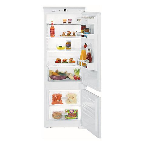 Buy Liebherr ICUS2924 Integrated Fridge Freezer, A++ Energy Rating, 54cm Wide, White Online at johnlewis.com