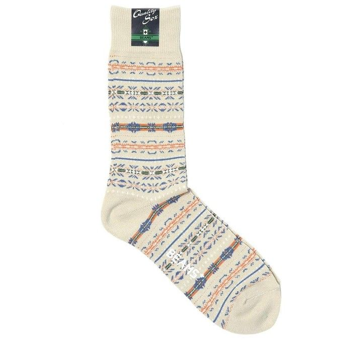 Beams Plus Fairisle Socks | sock obsession | Pinterest | Beams ...