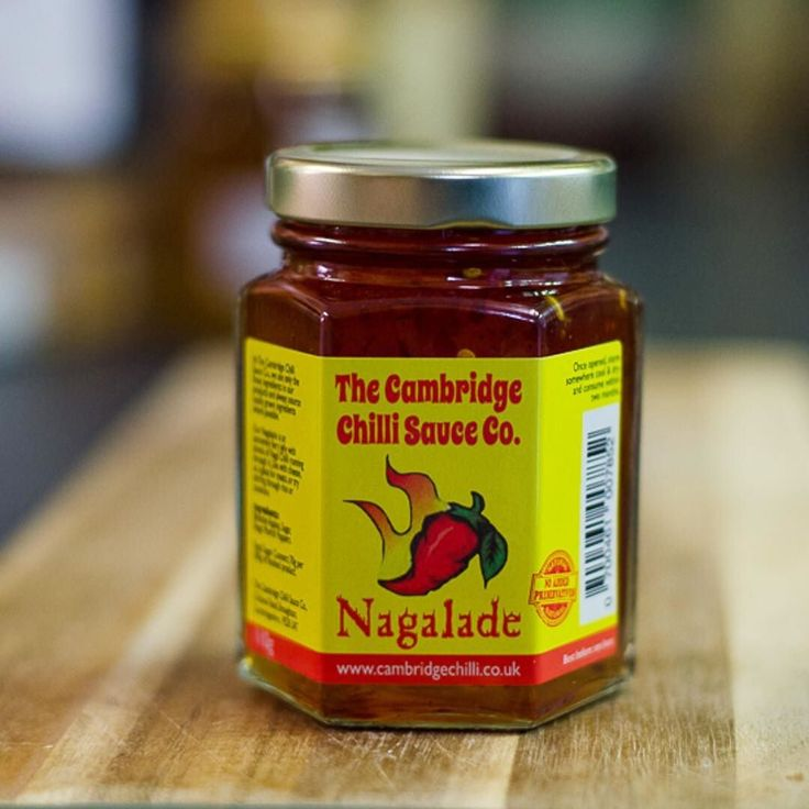 This hot sweet chilli jam (so called Nagalade because it is made using Naga chillies) is one of the top selling condiments on the site. Bought to us from the @cambridgecheeseco you can buy it from our site (link in profile)  #shoplocal #cambridgeuk #cambridgefoodie #independentcambridge #greatbritishfood2016 #localfoodie