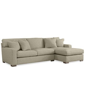 Kelly Ripa Ampton 2-Pc. Sectional with Chaise, Only at Macy's   macys.com
