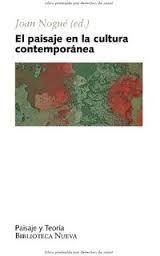 el paisaje en la cultura contemporánea -