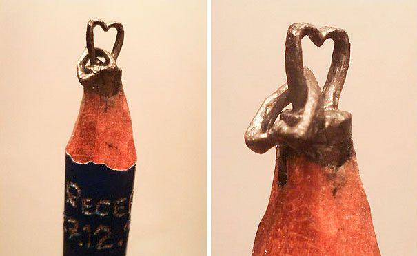 Les sculptures de mines de crayons de Recep Alçamlı   sculptures de mines de crayons par recep alcamli 7