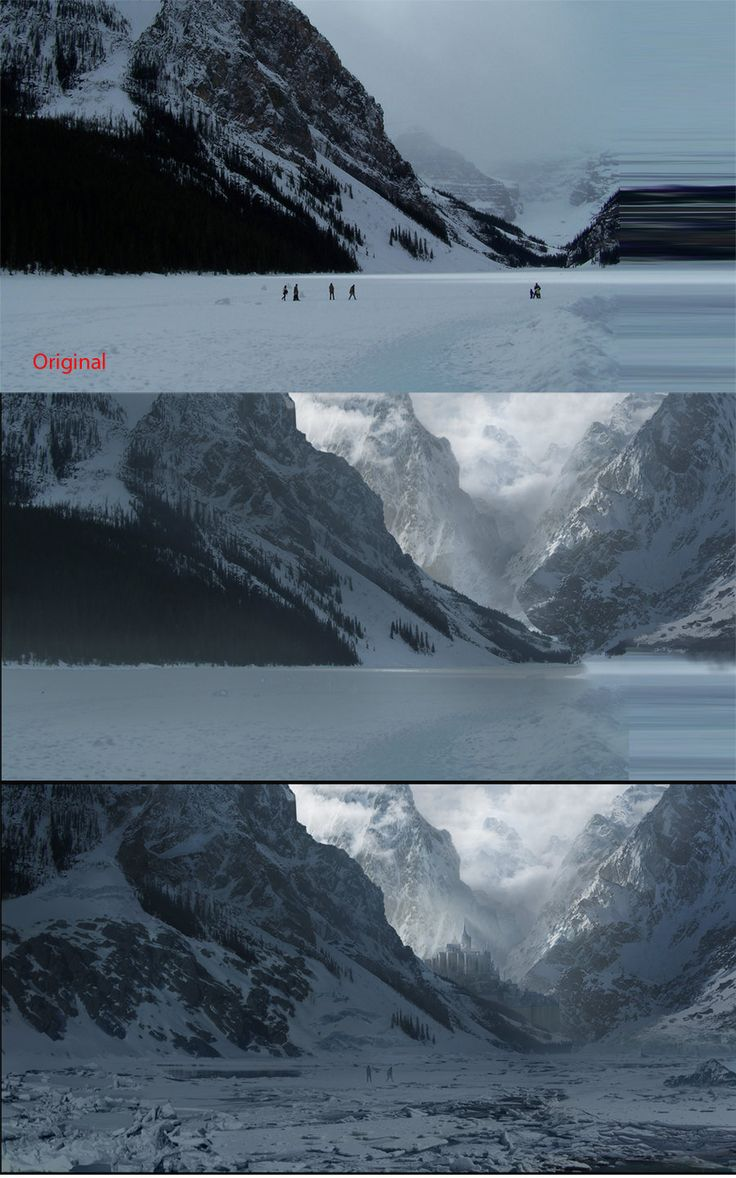 matte painting tutorial by ~pirsion on deviantART