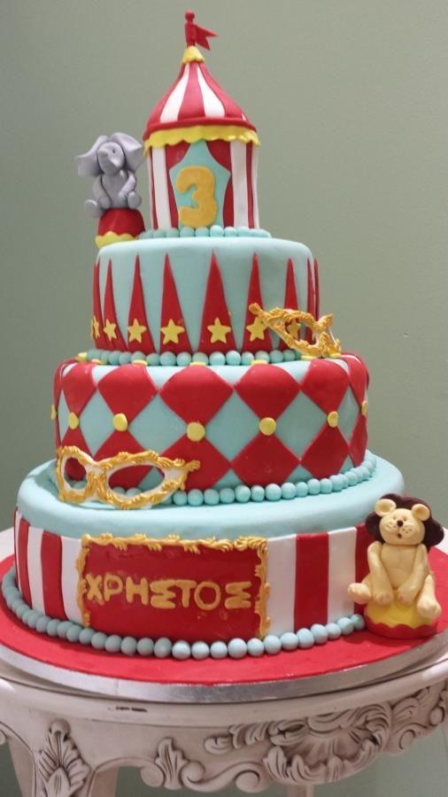 Mardi Gras cake - Cake by Christina Papadopoulou