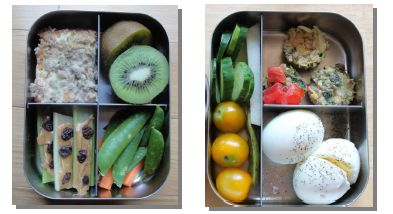 """""""The Healthy Lunch Box"""", eBook.  Ideas for healthier lunches."""