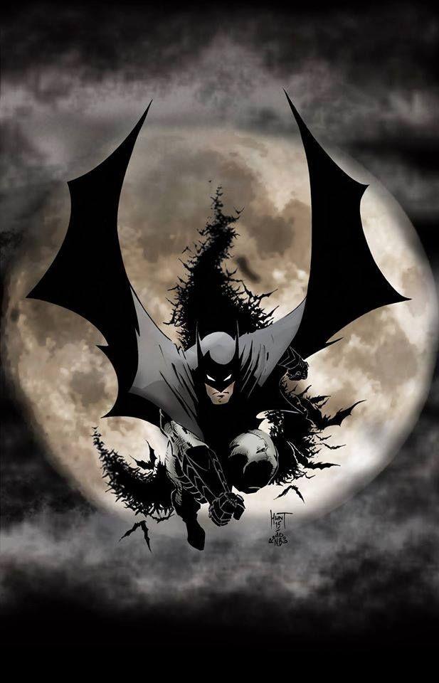 Batman by Ken Hunt *