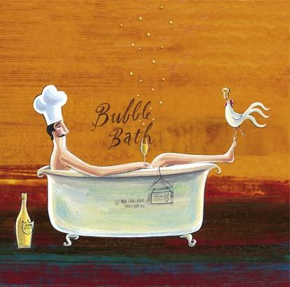 'Bubble Bath Chef' by Frans Groenewald